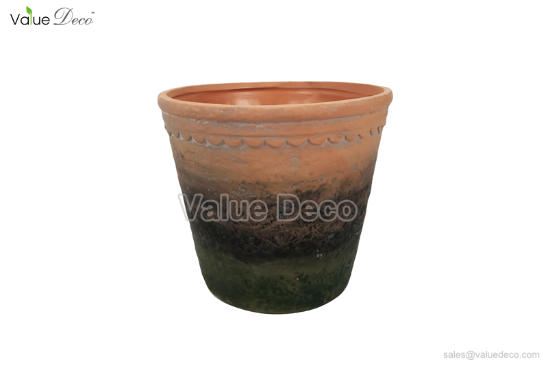 TCV01804 (Antiquated Style Ceramic Flower Pot)  sc 1 st  Value Deco & Portfolio Categories Terracotta